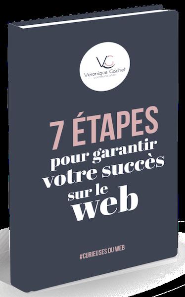 Ebook VGcom 7 étapes pour créer votre succès sur le web